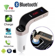 Modulator FM Car Kit auto G7 cu bluetooth