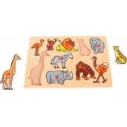 Puzzle - Jungla animalelor vesele