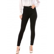 Blugi dama skinny simpli culoare negru 30