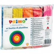 Plastilina Morocolor, 10 culori, 55 g/culoare