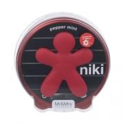Mr&Mrs Fragrance Niki Pepper Mint 1Pc U (Vůně Do Auta)
