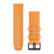 Garmin Óraszíj Fenix 5X Plus Narancs, Quickfit 26 mm