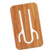 Suport telefon flexibil Lemn, TG by AleXer, 8190142, natur, plastic, metal, saculet si laveta incluse