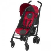 Детска лятна количка - Gear Lite Way, Red с борд, чувалче и дъждобран, Chicco, 2513226