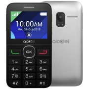 Telefon Mobil Alcatel 2008G, QVGA 2.4, 8MB RAM, 16MB Flash, 2G (Negru/Argintiu) + Cartela SIM Orange PrePay, 6 euro credit, 6 GB internet 4G, 2,000 minute nationale si internationale fix sau SMS nationale din care 300 minute/SMS internationale mobil UE