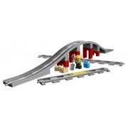 LEGO DUPLO Town 10872 Dodatna oprema za vlak - most i tračnice