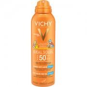 Vichy Spray de protecție solară anti-nisip pentru copii SPF50 Ideal Soleil (Anti-Sand Mist for Children) 200 ml