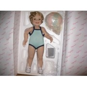 Bathing Beauty Shirley Temple From The Toddler Doll Collection By The Danbury Mint