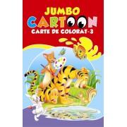 Jumbo Cartoon. Carte de colorat - 3