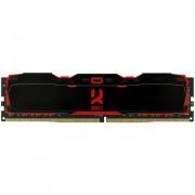 DDR4, 8GB, 2666MHz, GoodRam IRDM X, CL16, Black (IR-X2666D464L16S/8G)