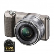 Sony A5100 Aparat Foto Mirrorless 24MP APSC Full HD Kit cu Obiectiv 16-50 F/3.5-5.6 OSS Maro