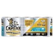 Hartie igienica 2 straturi 130 foi 10/set El Capitan