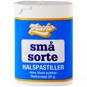 none Små Sorte Halspastiller (Zacho) - 25 G
