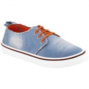 Clymb 1171 Sky Blue Orange Shoes For Men's In Various Sizes