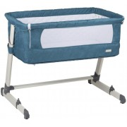 BabyGo Patut co sleeper 2 in 1 Together Turquoise Blue