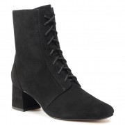 Боти CLARKS - Sheer55 Lace 261510074 Black Suede