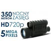 Noktowizor z możliwością nagrywania w HD, Bestguarder 6x50