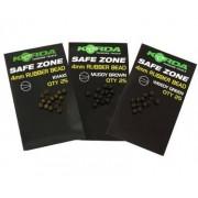 Korda Gumové korálky Rubber Bead 4mm Green 25ks