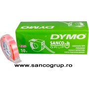 Banda DYMO embosabila plastic orange 12 mm x 3 m