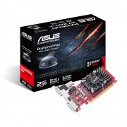 VGA Asus R7240-2GD5-L, AMD Radeon R7 240, 2GB, do 780MHz, VGA, DVI-D, HDMI, Low-profile, 36mj (90YV0BG1-M0NA00)