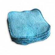 Naturiou Lingettes lavables Naturiou bambou bleu x 10