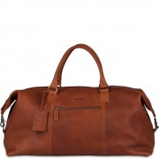 Burkely Leren Weekendtas Antique Avery Cognac