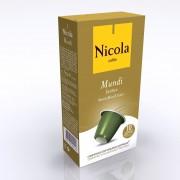 Capsule Nicola Cafes Mundi Exotic, compatibile Nespresso, 10 capsule