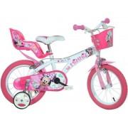 "Bicicleta copii DINO BIKES 614-NN, Roti 14"", MINNIE"