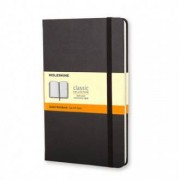 Unbranded Classic notebook large ruled hard black