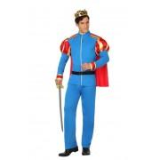 Atosa Disfraz de príncipe azul para hombre - Talla XL