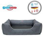 Thermo Switch® Hundebett Paros M: L 70 x B 50 x H 24 cm für Hunde