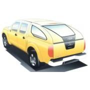 HARD TOP CARRYBOY S500 NISSAN NAVARA DBLE CAB 2005 - accessoires 4X4 marina