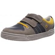 Clarks Boy's Blue Leather Sports Shoes - 4.5 kids UK/India (20.5 EU)