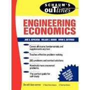 Schaum's Outline of Theory and Problems of Engineering Economics, Paperback/Jose A. Sepulveda