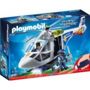 Elicopter de Politie cu Led Playmobil