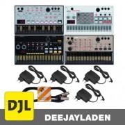 Korg Volca 4er Set + Sample + Beats + Bass + Keys + NT