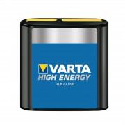 High Energy 4.5 V battery for flat lights