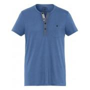 Jockey Schlaf-Shirt 1/2-Arm Jockey blau