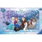 Puzzle Ravensburger - Frozen Sub Stele, 15 Piese