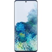 Samsung - Geek Squad Certified Refurbished Galaxy S20+ 5G Enabled 128GB (Unlocked) - Aura Blue