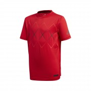 Adidas Barricade Tee Boys Scarlet Red 152