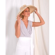 Lady Pipa Top Lisette gris