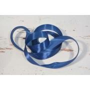 Díszítő dekoráló dekorációs 25 mm kék szatén szalag 15m