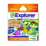 "Soft educational LeapPad ""Fabrica literelor"""