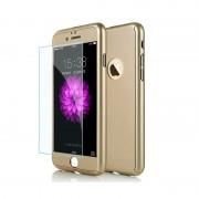 Husa Iphone 8 Plus Full Cover 360 - Gold