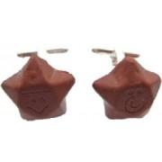 Chocolate Star Cufflinks