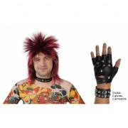 Punk thema verkleed set 5-delig