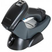 Datalogic PowerScan PM9500-RT, 2D, Digimarc, RF, сериен, кредъл, черен