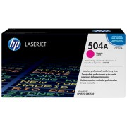 Original HP 504A / CE253A CM3530 / CP3525 Magenta Toner Cartridges 7000 pages