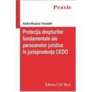 Protectia Drepturilor Fundamentale Ale Persoanelor Juridice In Jurisprudenta Cedo - Andra-Roxana